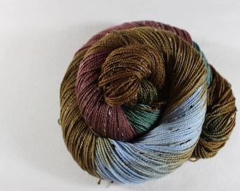 Dickon - House Wren - 85/15 superwash merino/ nylon tweed sock yarn