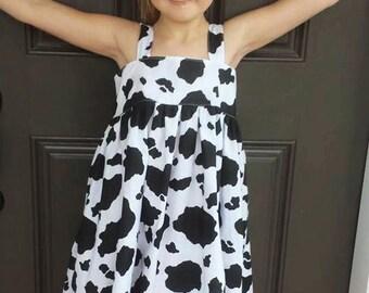 Cow Girl Dress - County Fair or Farm Visit Dress