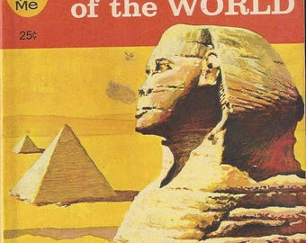 Vintage Wonders of the World A Junior Golden Guide Quiz-Me Book, 1963