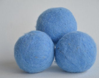 Large Dryer Balls - X Large - Blue Dryer Balls