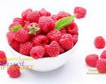 Raspberry Lovers Dessert Gift Basket