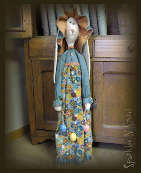 """Pattern: Millie - 36"""" Standing Bunny"""