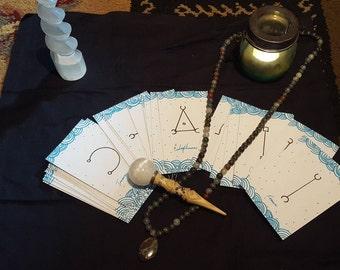 Janarric Rune Oracle Card Reading