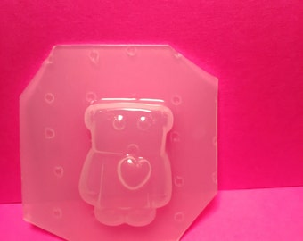 Chibi Sad Little Robot Flexible Plastic Mold For Resin SSM Exclusive Design