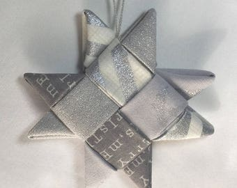 Fabric Origami Stars 2
