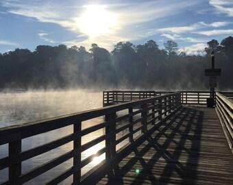 Huntsville State Park Fog