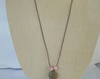 Simple Bamboo String necklace