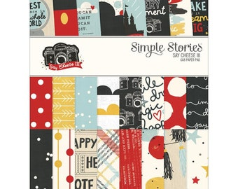 Simple Stories Say Cheese III 6x8 Paper Pad SS7914