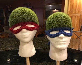 Ninja Turtle Mask Hat