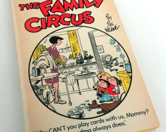 """Vintage """"The Family Circus"""" Book by Bil Keane"""