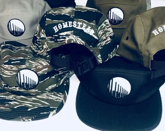 5 Panel Military Style Hats