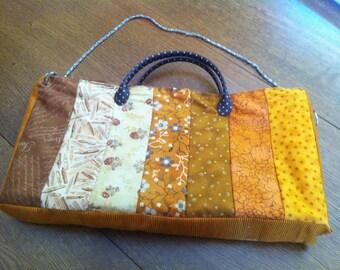 Handbag or over the shoulder in patchwork