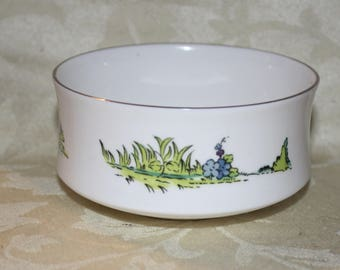 Crown Sterling China Bowl - Covent Garden Made in England