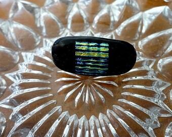 Dichroic Fuse Glass Pin-