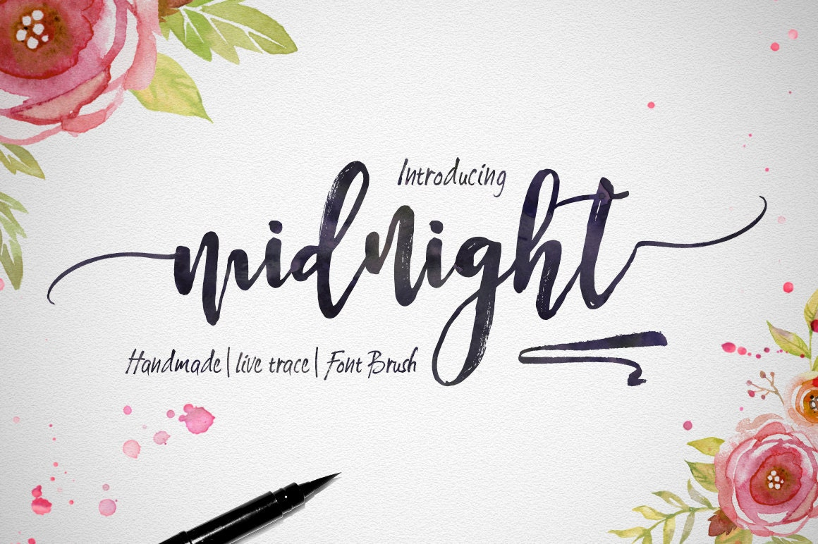 how to get calligraphy font