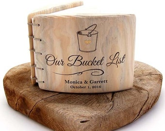 5th anniversary gift Bucket List COUPLES GIFT his and hers 5th anniversary fifth anniversary 5 year anniversary wedding keepsak
