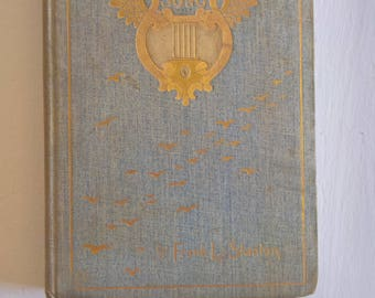 Comes One with a Song by Frank L. Stanton --- Antique American Lyricist Poem Collection --- Victorian Era Chic Vintage Book of Verse Poetry