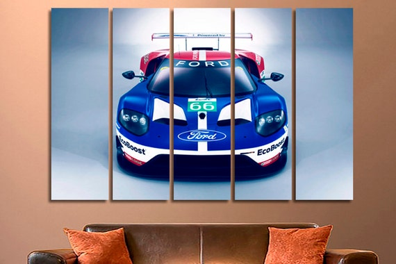 Ford GT Ford Art Ford Canvas Ford Decor Ford Home Decor Ford