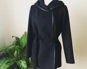 The EMILY Jacket - Black Jacket With Hood