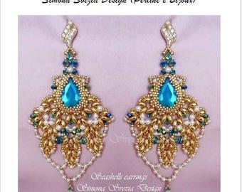 "TUTORIAL ""Seashells"" earrings / orecchini"