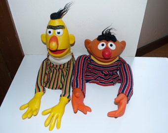 Choose One: Ernie or Bert Muppets Puppets 1970's