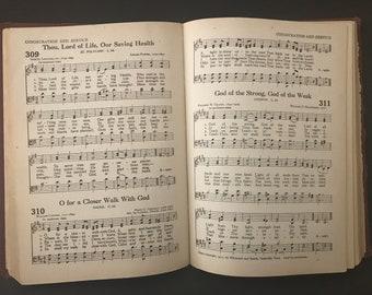 Christian Worship Hymnal, Hardcover, 1947, Sixth Printing