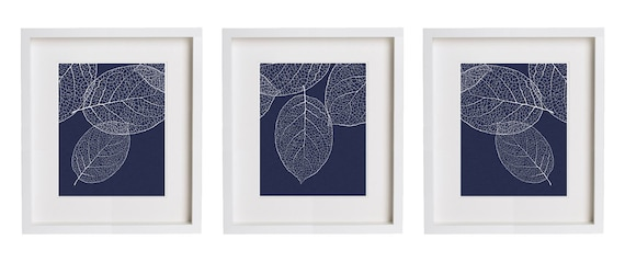 Navy And White Wall Art