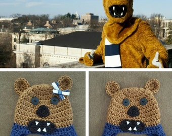 Penn State Nittany Lion Hat with earflaps