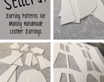 Top Sellers - Patterns for Making Leather Earrings