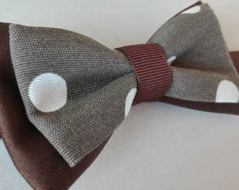 Bowtie Big Dots unisex/BOWTIE for man and woman