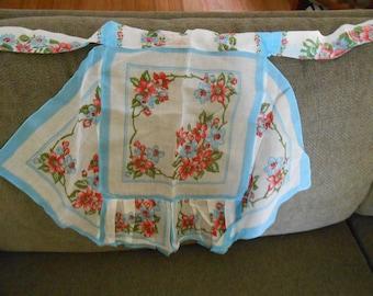 vintage hankie apron