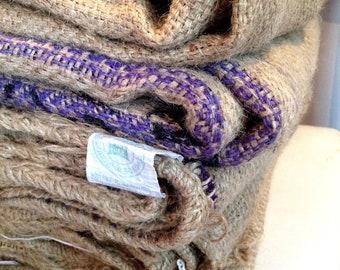Burlap Coffee Bag. DIY Wedding Supplies. Rustic Home Decor. Ready to Ship.