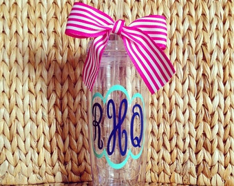 Personalized 20 oz. Double Wall Tumbler, Hot/Cold Lid & Straw