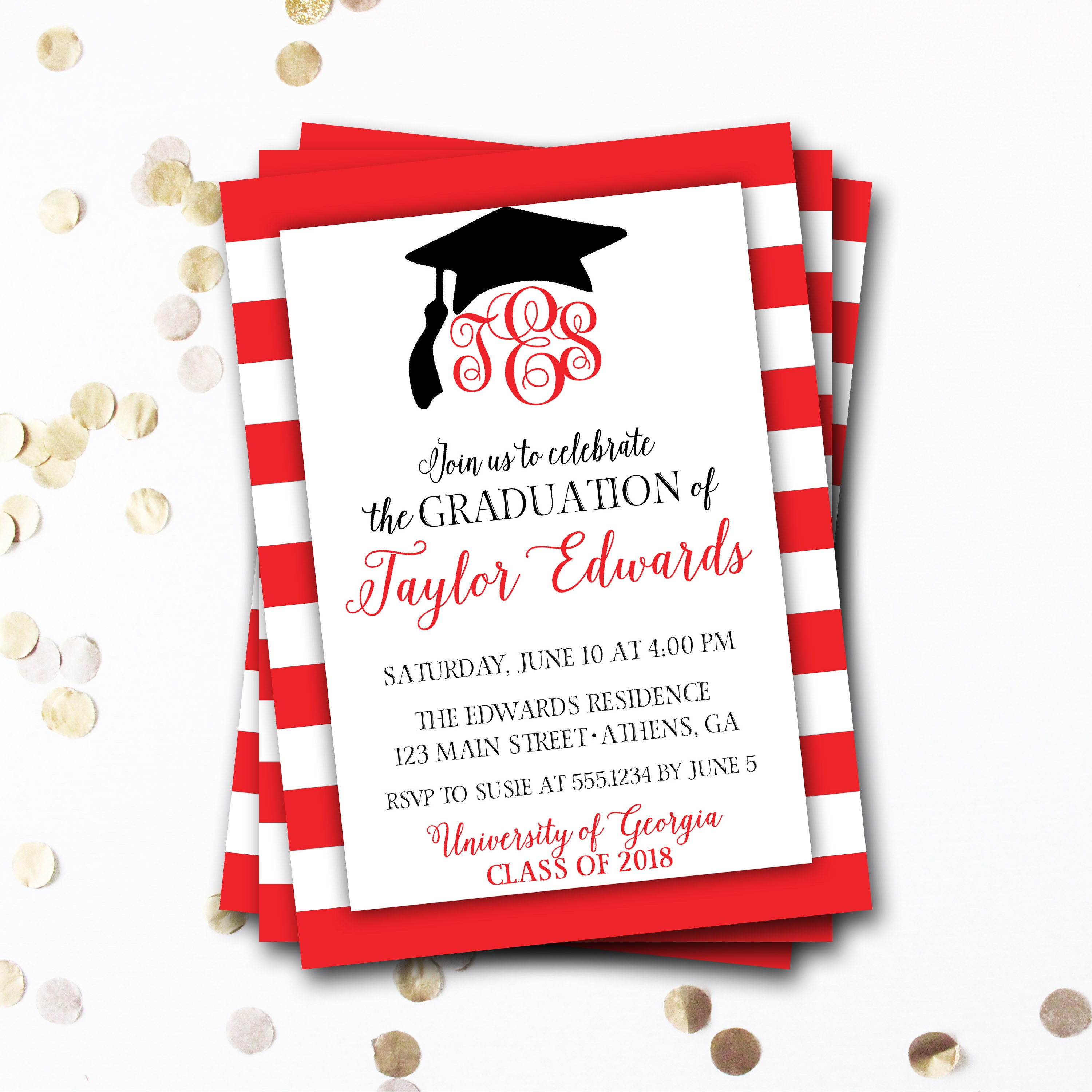 Nice cheap invitations for graduation ideas resume ideas attractive invitation cards graduation photo resume ideas filmwisefo