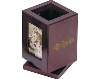 Executive Gift Picture Frame Pen & Pencil Cup FREE SHIPPING
