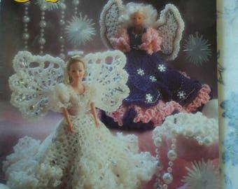 Annie's Attic 87D74 Crochet Fashion Doll Angels