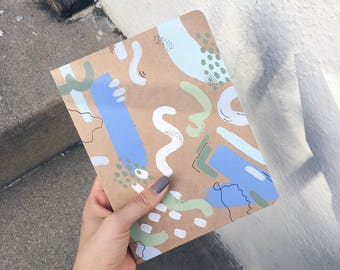 The Creative: Unlinned Abstract Journal