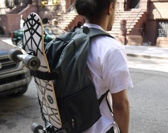 ILoveCollege Skater Backpack Black & Gray