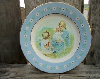 Tenderness Commemorative Plate, 1974 Avon Plate