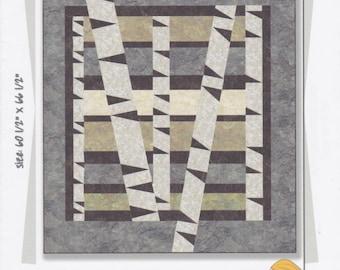Winter Woods, Tamarinis, Quilt patroon, bomen, DIY Quilt patroon