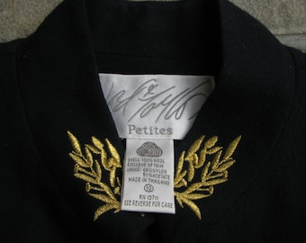 Vintage Lord&Tailor Jacket - Military Style - Size 10 Petites