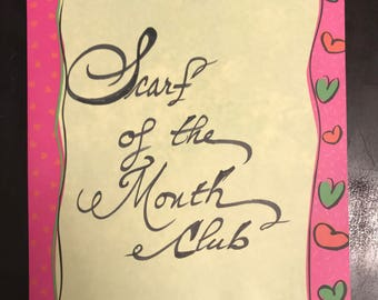 Silk Scarf of the Month Club