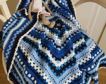 Baby blanket blue