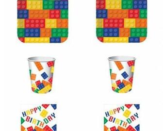 Lego-Lego decorations party Kit