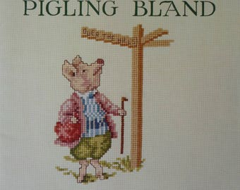 Cross Stitch Pattern Book - The Tale of Pigling Bland by Beatrix Potter book 545. (S109)