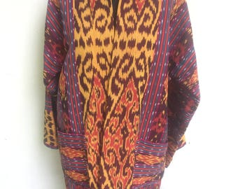 Clearance Sale!!! Gorgeous Javanese Ikat Cardigan Outer