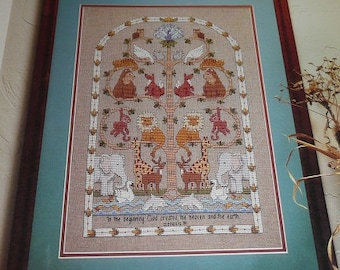 Vintage Dimensions Tree Of Life Cross Stitch Pattern