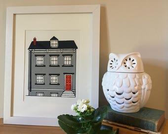 Charlie House Print