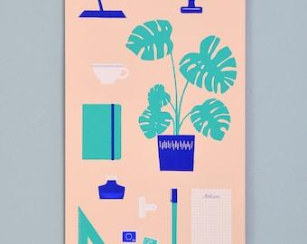 Art print» workplace»