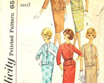 4 Season Cardigan Suit Bust 34 Simplicity 4554